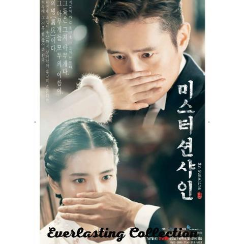DVD Drama Korea Mr Sunshine Korean Movie Film Kaset Romance Lee Byung Hun Kim Tae