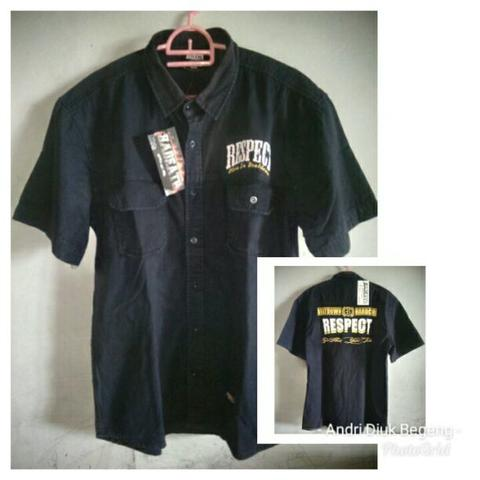 KEMEJA/WORKSHIRT BAND RESPECT TAG HADEATH