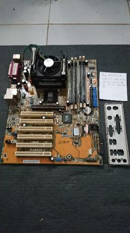Asus P4S533X Intel CPU Mobo PC Desktop Kantor IDE Motherboard
