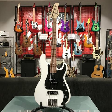 BRAND NEW SCHECTER JAPAN BASS PA-OR-B/XXX WHITE