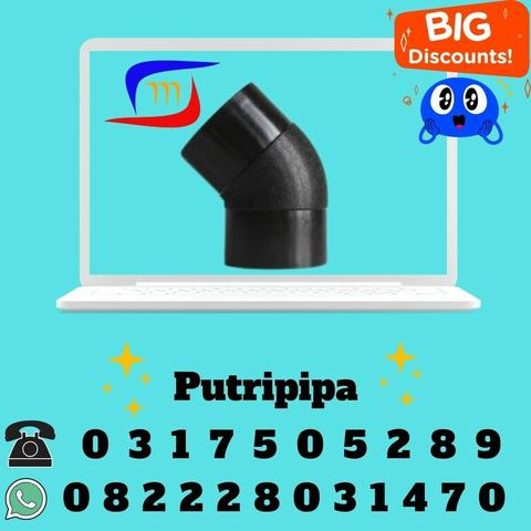 fitting injection hdpe elbow 45