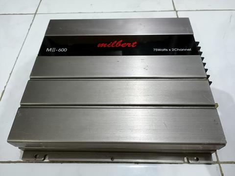 Power Amplifier Milbert Mii-600 Tube (tabung)