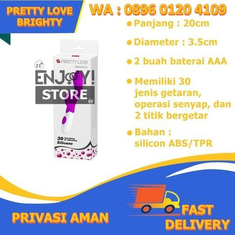 Pretty Love Brighty - Vibrator Dildo Sex Toy - 0896 0120 4109 - bisa marketplace