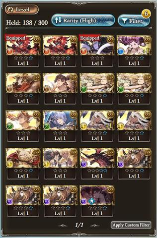 Starter Account Granblue Fantasy (Mobage)