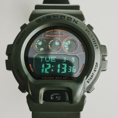 Casio G Shock G6900KG-3 Military Tough Solar