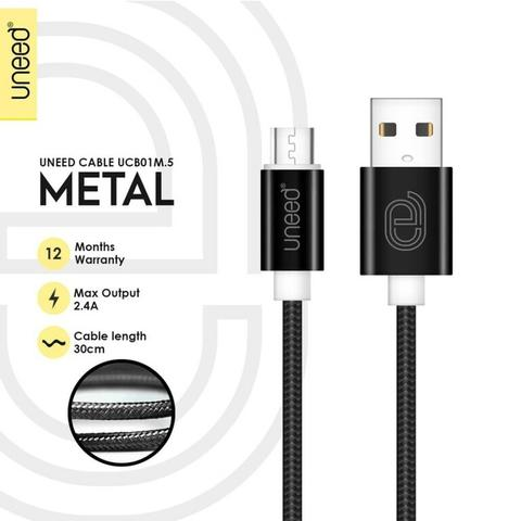 Charger Hippo Ilo AF201 Quick Charge 3.0 Vgen Kabel Micro USB Hippo Uneed Vivan