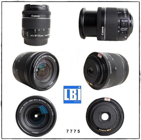 Canon EFS 18-5mm IS STM kode 7775
