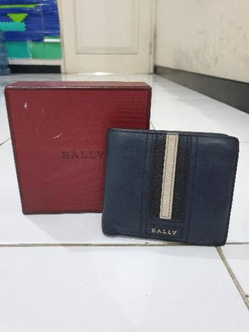 Bally Trasai Wallet original authentic not hermes LV louis vuitton salvatore gucci