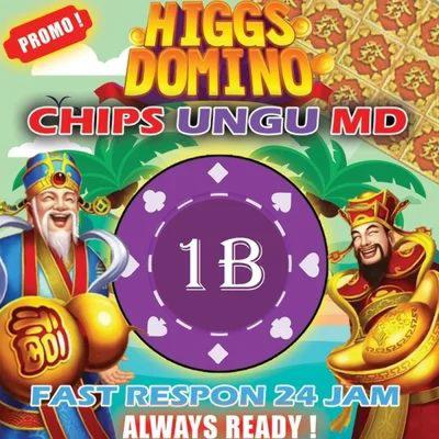 CHIP MD 1B - KOIN HIGGS DOMINO ISLAND
