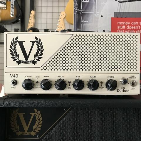 VICTORY AMPS MADE IN ENGLAND : VICTORY V40H THE DUCHESS HEAD