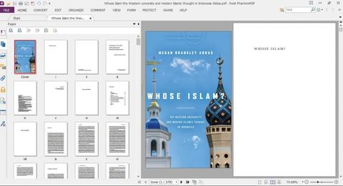 JUAL Whose Islam? the Western university & modern Islamic thought in Indonesia Abbas