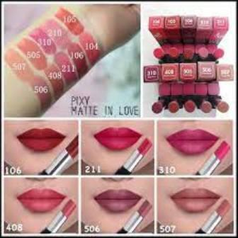 PIXY MATTE IN LOVE LIPSTICK