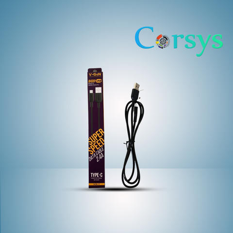 Kabel Data USB Type C 2,4A Fast Charging QC 3.0 by Corsys