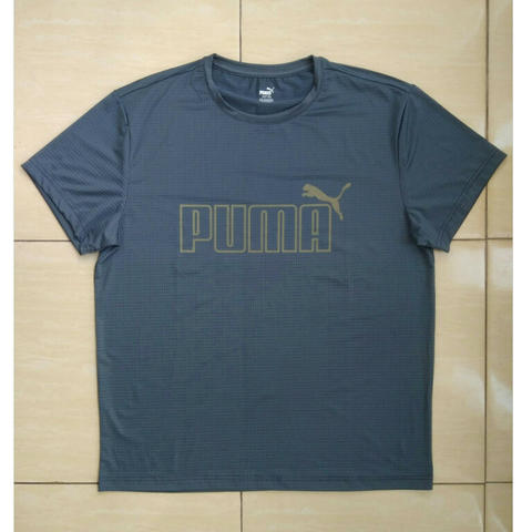 Puma Quick Dry T Shirt Grey Original
