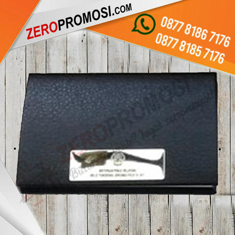 Souvenir Tempat Kartu Nama kulit - Business Card Holder 8730