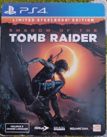 BD Playstation 4 Shadow of The Tomb Raider Limited Steelbook Edition