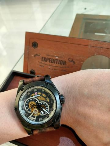 Expedition E6679M Black Automatic Limited Edition