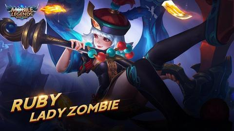 SKIN MOBILE LEGENDS RUBY LADY ZOMBIE ( SKIN EPIC RUBY )