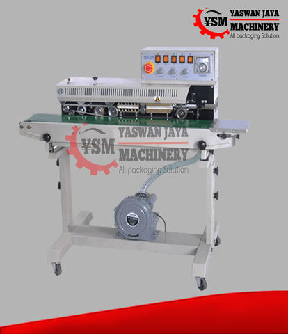 Mesin Continuous Sealer with Gas Suction FRMC980iii