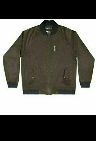 TORCH JAKET BOMBER DOMINIC OLIVE-XL