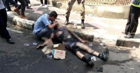 polisi-yang-terbakar-saat-kawal-demo-di-cianjur-meninggal-dunia