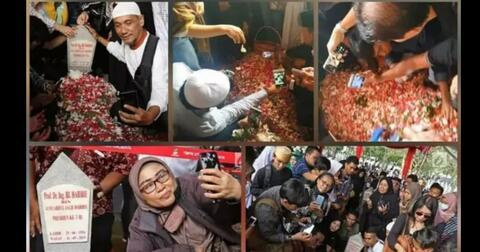 viral-makam-habibie-jadi-ajang-selfie-masyarakat-netizen-krisis-moral