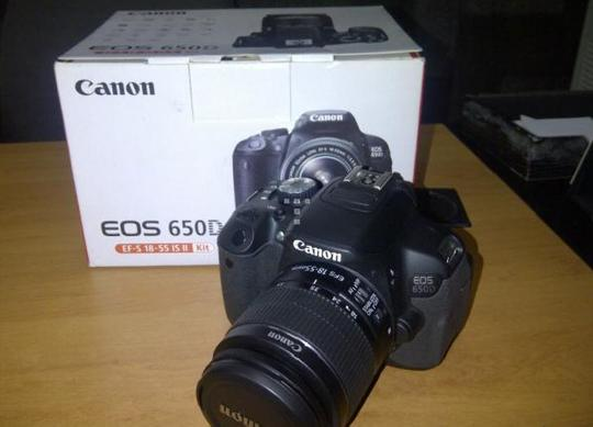Terjual Kamera Canon 650d Masih Baru Dgn Harga Murah Kaskus