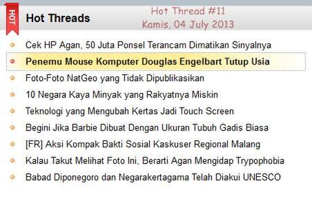Penemu Mouse Komputer Douglas Engelbart Tutup Usia