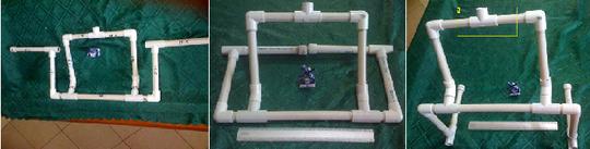 Kreasi dengan Pipa Paralon PVC yang patut dicoba