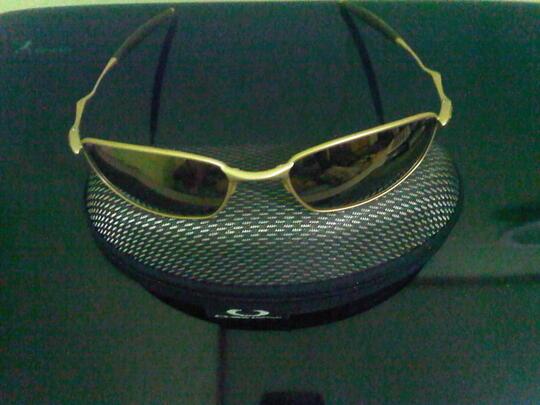 Terjual WTS  Kacamata Original Oakley Whisker Gold (Second)  d19e8c14ae