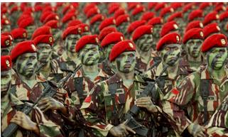 5 Negara yang Menghapus Kekuatan Militernya