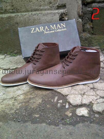 Terjual Sepatu Zara Boots Keren Kece Ga Pake Mahal gan  7b3e95aa12