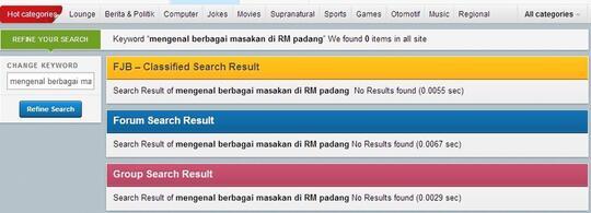 Mengenal Berbagai Menu di RM Padang