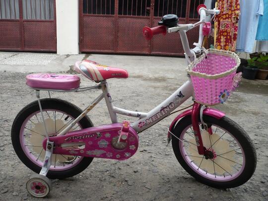 Terjual Sepeda anak merk MERINO bekas bagus murah KASKUS