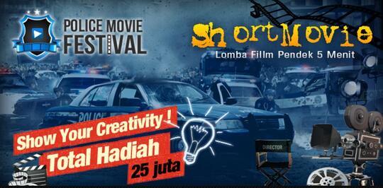 Police Movie Festival - Lomba Film Pendek 5 Menit