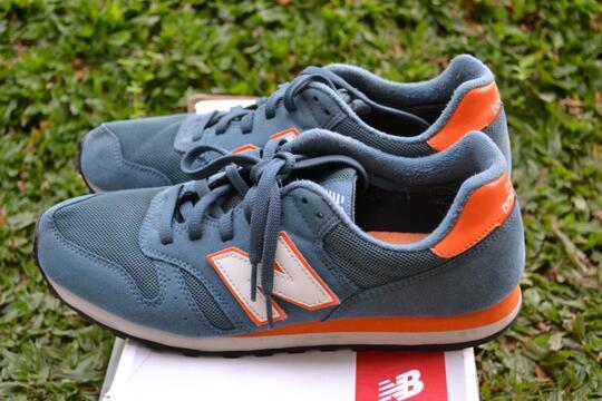 Terjual New Balance 373 MTO (Green Orange) Original, Bandung