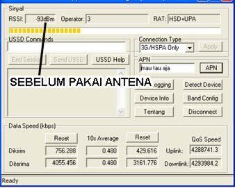 Terjual Jual Antena Yagi 45dB 85dB Induksi & Pigtail Modem Huawei Sierra  ZTE Murah COD Jogja