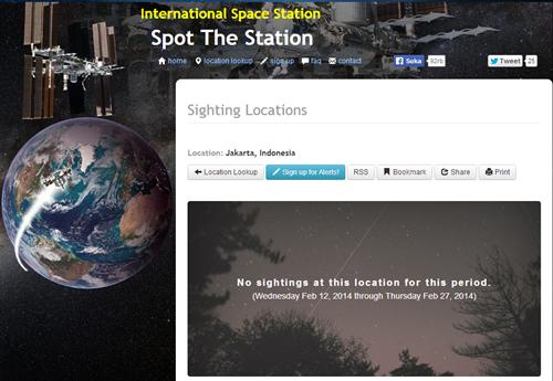 Melihat Satelit Luar Angkasa di Langit Rumah Agan