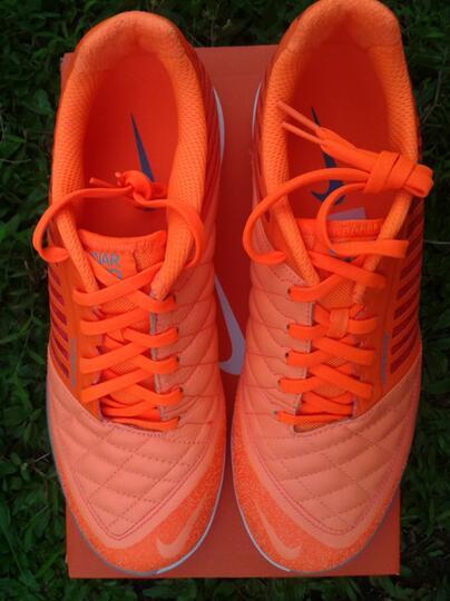 differently a9802 2882e ... sepatu futsal nike lunar gato II atomic orange original ...