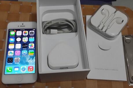 Terjual iPhone 5 16Gb White - Putih   Factory Unlocked-FU   Bekas ... 61b2f97adf