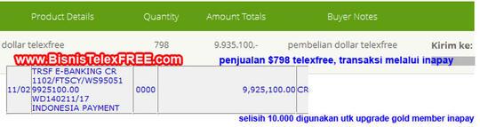 TelexFREE - Post Iklan 1 Menit Perhari Gaji $20-$100 per Minggu (Bonus Web Support)