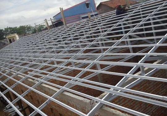 Jasa Pemasangan Rangka Atap Baja Ringan & Genteng Metal