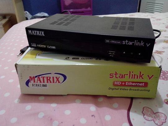 Terjual Jual Receiver Matrix Starlink V Hd Pvr Second Kaskus