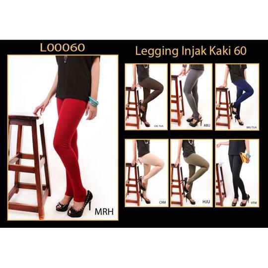 Terjual Legging Polos Injak Kaki Nylon Spandek Stretch Kaskus