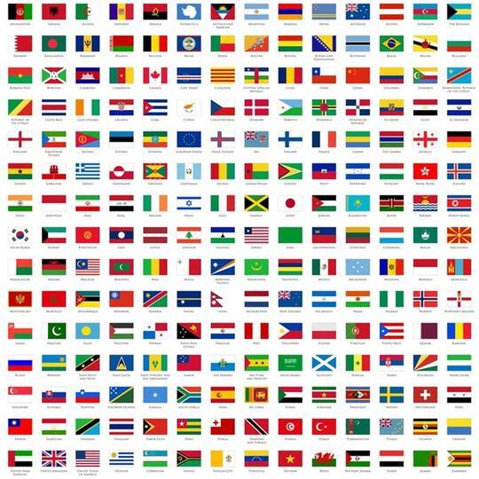 Bendera Negara Negara Ini Membuat Anak Anak Tk Dan Sd Stress Mungkin Ente Juga Kaskus