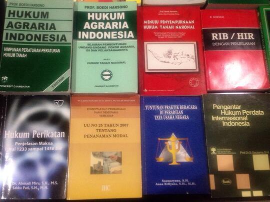 terjual jual murah buku kuliah hukum perdata pidana bisnis