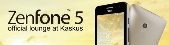 [Official Lounge] ASUS Zenfone 5 - Your everyday companion - Part 2