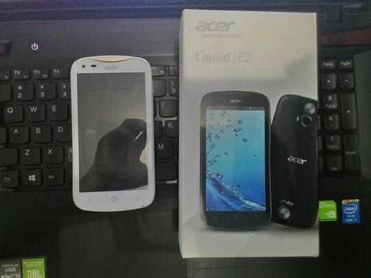 Acer Liquid E2 V370 Putih Second