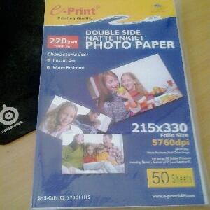 Blueprint bp gfa455 laminating glossy film a4 daftar harga kertas foto transfer papersticker laminating film e printblueprint malvernweather Choice Image