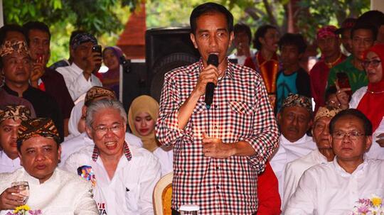 Sumbangan untuk Jokowi-JK Tembus Rp61 Miliar
